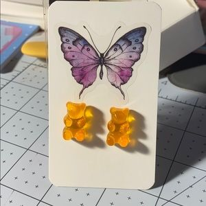 2/$15 Gummy Bear Earrings